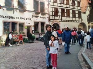 文化の違いを肌で感じながら子育て真っ最中だったフランス時代。