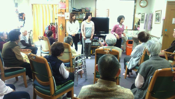 声磨き体操の社会貢献活動